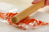 鮭のゴマまぶし焼きの下準備1