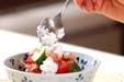 トマトのおかか和えの作り方2