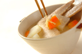 手羽先のスープの作り方2