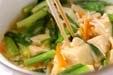 高野豆腐の卵とじの作り方3