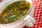 菊菜のトロミ汁