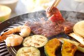 鉄板焼肉の作り方1