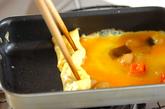 煮豆の卵焼きの作り方2