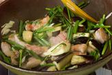 豚バラとナスのソテーの作り方2