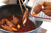 新ゴボウの肉団子巻きの作り方2