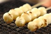 豆腐白玉のみたらし団子の作り方3