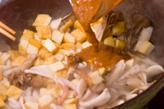 イカと厚揚げの梅炒めの作り方3
