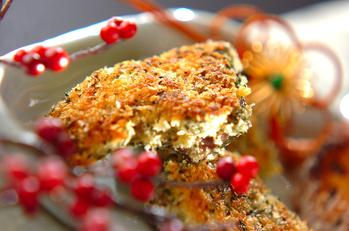 ブリの香草パン粉焼き
