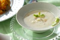 サッパリ白桃スープ