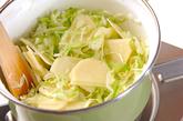 キャベツの白いスープの作り方1