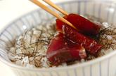 カツオとネギのお寿司の作り方2