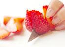 イチゴのマスカルポーネの作り方1