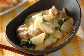 鶏と大根のクリーム煮