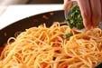 タコのトマト煮込パスタの作り方4
