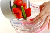 トマトとオクラのだし浸しの作り方1