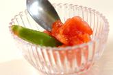 トマトとオクラのだし浸しの作り方2