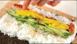 照り焼き巻き寿司の作り方3