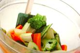 セロリのピリ辛漬けの作り方2