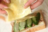 豆腐ステーキの和風サンドの作り方5
