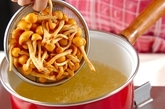 ナメコのみそ汁の作り方1