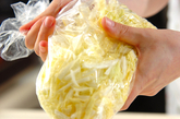 白菜とコーンのコールスローの作り方1