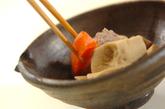 鶏肉と高野豆腐の煮物の作り方3