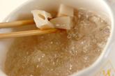 レンコンのユズマヨ和えの作り方1