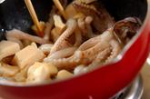 イカゲソの炒め物の作り方1