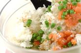 インゲンとタラコの混ぜご飯の作り方2