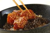 マグロのゴマダレ丼の作り方2
