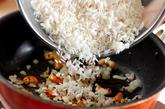 炊飯器でプラオ風チキンの炊き込みの作り方2