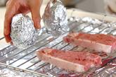 豚肉の辛味みそ焼きの作り方1