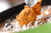 スタミナレバー串カツ丼の作り方4