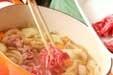 シンプル肉ジャガ風煮物の作り方2