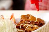 定番豚肉のショウガ焼きの作り方2