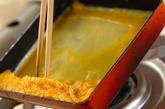 定番だし巻き卵の作り方3