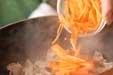 きんぴらゴボウの作り方1