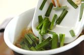豆腐と油揚げの田舎みそ汁の作り方2