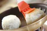 ジャコ入り焼きおにぎりの作り方2