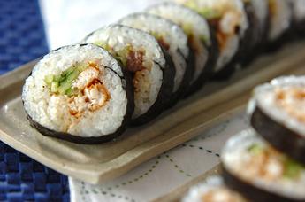 ブリの照り焼き巻寿司