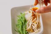 ミックス野菜の卵巻きの作り方2