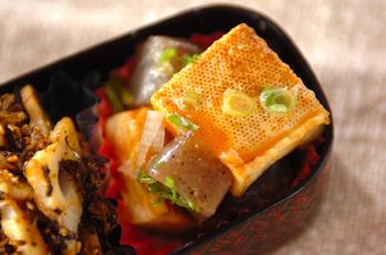焼き豆腐の甘みそ和え