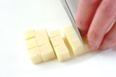 ミネラルたっぷり!のりチーズパン!の下準備2
