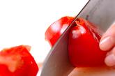 トマトと卵のスープの作り方1