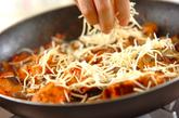 鮭のトマト煮チーズのせの作り方3