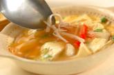レンジで卵中華あんかけの作り方3