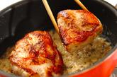チキンソテーのクリームソース煮の作り方5