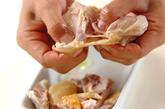 鶏とネギのユズ風味の作り方4