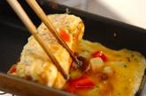 肉ジャガの卵焼きの作り方2