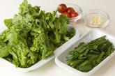 菜の花の炒めものの作り方1